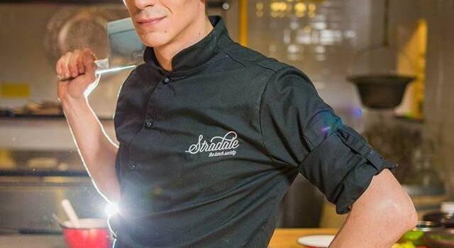 Vladi Cuzuc, un chef cu experienţă de Michelin. Pe 13 martie, la Cetăţuia.
